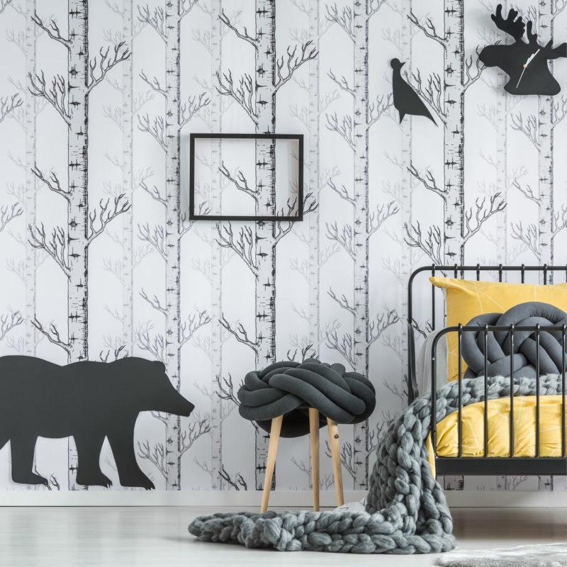 Forest room for kids A 05